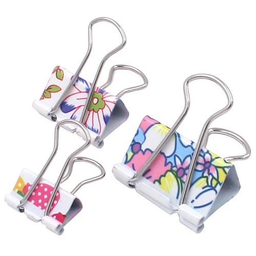 Floral Binder Clips Teacher Love