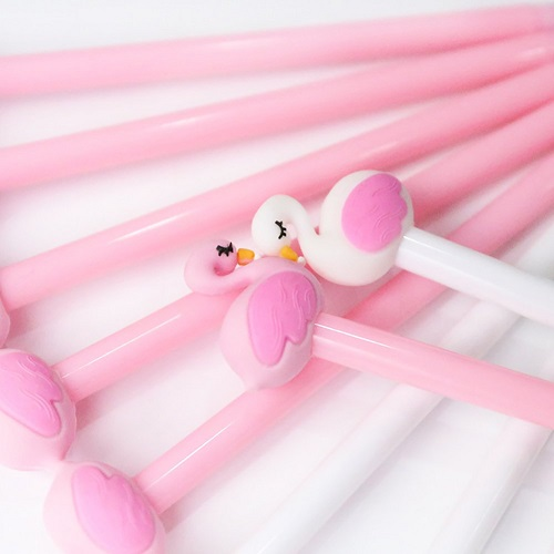 Cute Flamingo Pen Pink-Back-to-School-Supplies