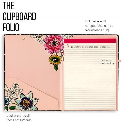 Vera Bradley Women's Clipboard Folio