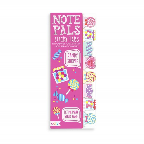 Candy Shoppe Sticky Tabs  Pink-Back-to-School-Supplies