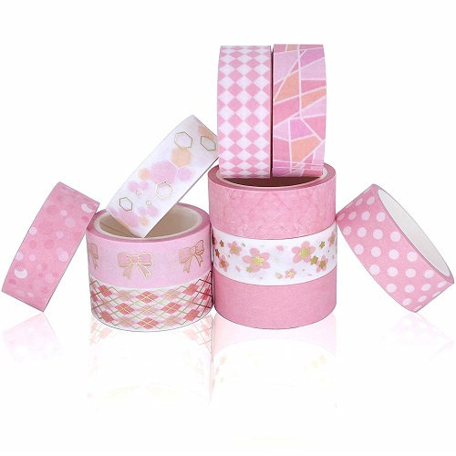 Washi Tape Set - Pink-Supplies-For-School