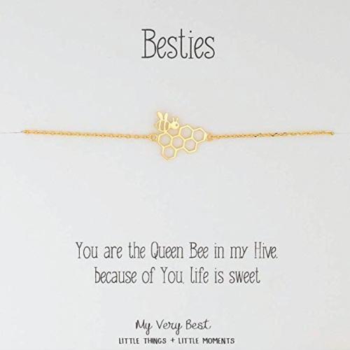 Sentimental Dainty Bee Besties Bracelets