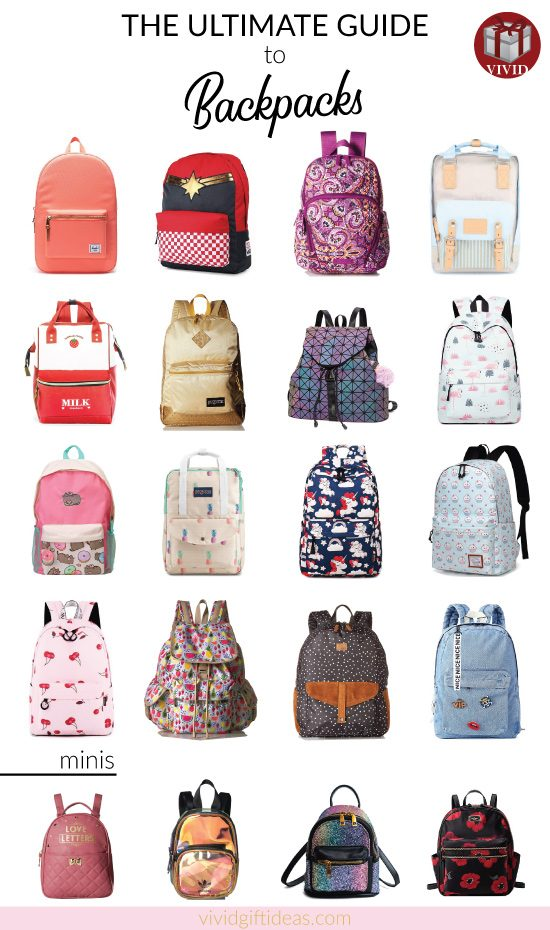 20 Amazing Backpacks That Are Cute