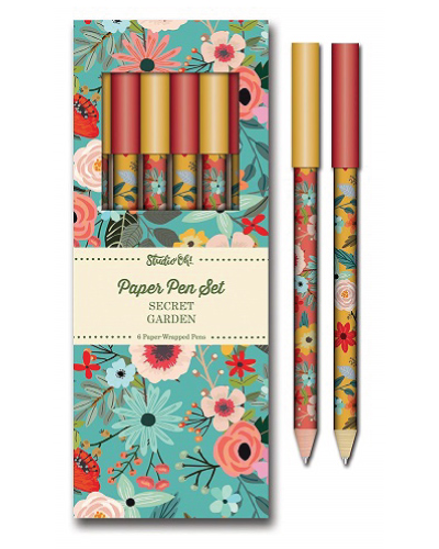 Studio Oh! Paper Secret Garden Pen Set