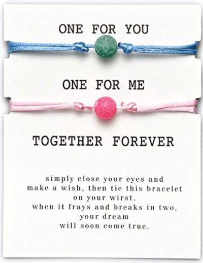 Feng Shui Natural Stone Friendship Bracelet Set