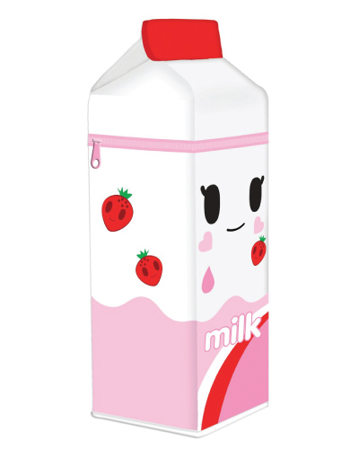 tokidoki Milk Carton Pencil Case Pink-Back-to-School-Supplies