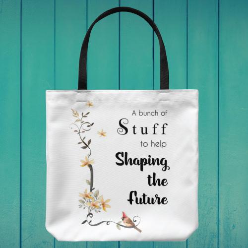 Shaping The Future Teacher Tote Bag