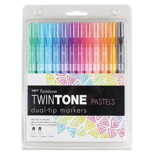 Tombow TwinTone Marker Set Stationery