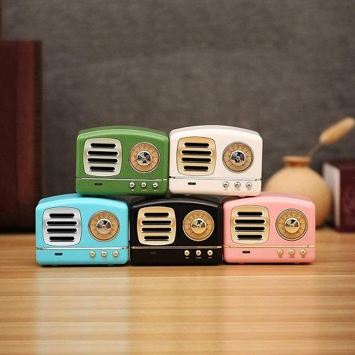 Dosmix Wireless Stereo Retro Speaker | Teen Girl Stocking Stuffers