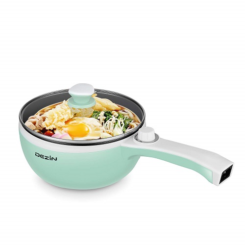 Dezin Electric Hot Pot Pan Cooker | going-to-college-gifts
