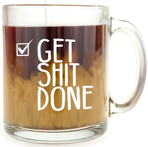 Get it Done Glass Mug