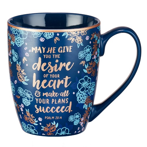 The Desire of Your Heart Inspirational Quote Coffee Mug