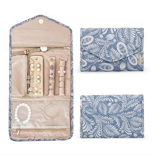 Travel Jewelry Organizer Case