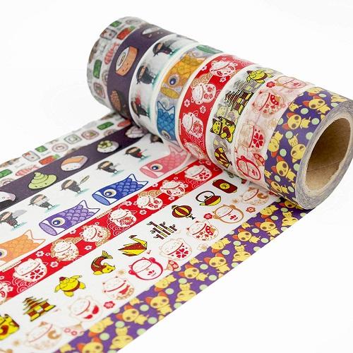 Kawaii Japanese Pattern Washi Tapes | Kawaii Stationery