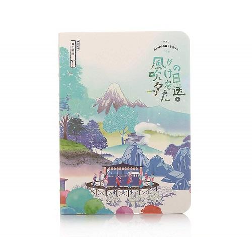 Japanese Scenery Hardcover Journal | Kawaii Stationery