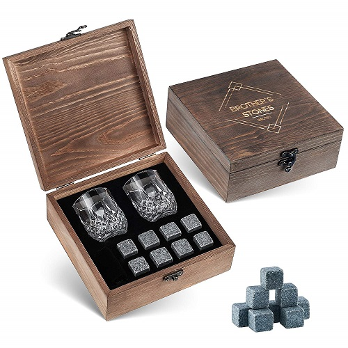 Chilling Whiskey Stones Gift Set