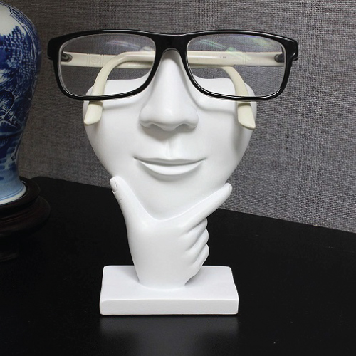 Human Sculpture Glasses Holder Stand