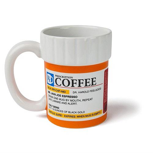 Funny Work Mugs: The Prescription Coffee Mug
