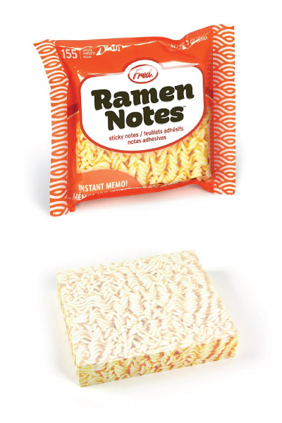 Fred Ramen Sticky Note Pad | Kawaii Stationery