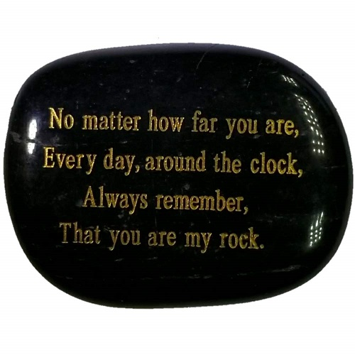 Christmas Gift Ideas | Love Engraved Rock | Gifts for Boyfriend