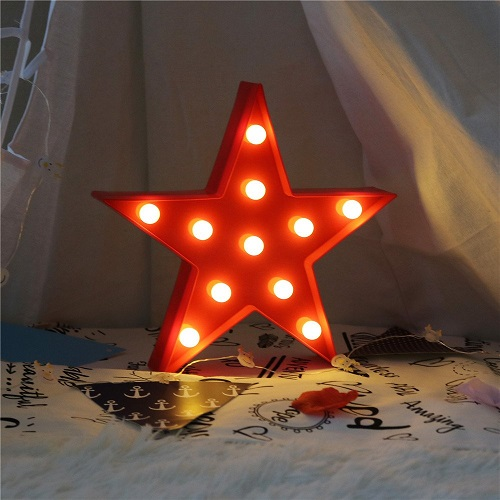 Star Shaped LED Marquee Sign