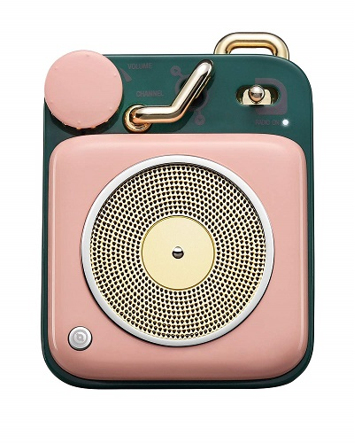 Muzen Audio Cotton Candy Button Speaker   Christmas Gifts for Teen Girls