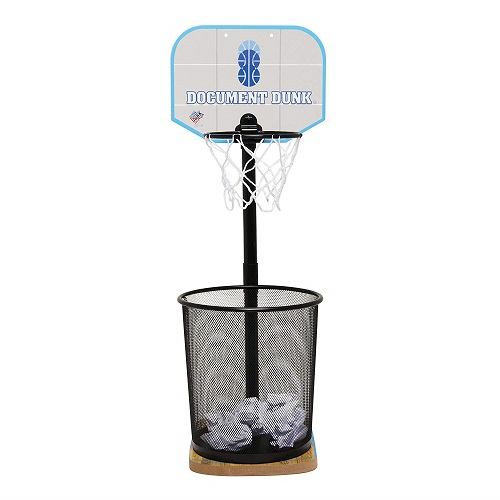 Christmas Gift Ideas | The Dunk Collection Trash Can Basketball Hoop for Office  | Gifts for Boyfriend