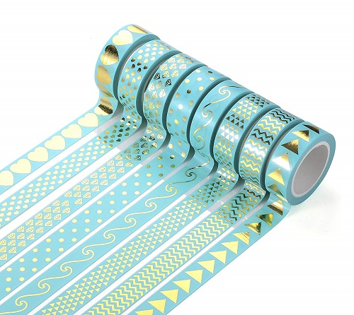 Agutape Foil Gold Washi Tape | Christmas Gifts for Teen Girls