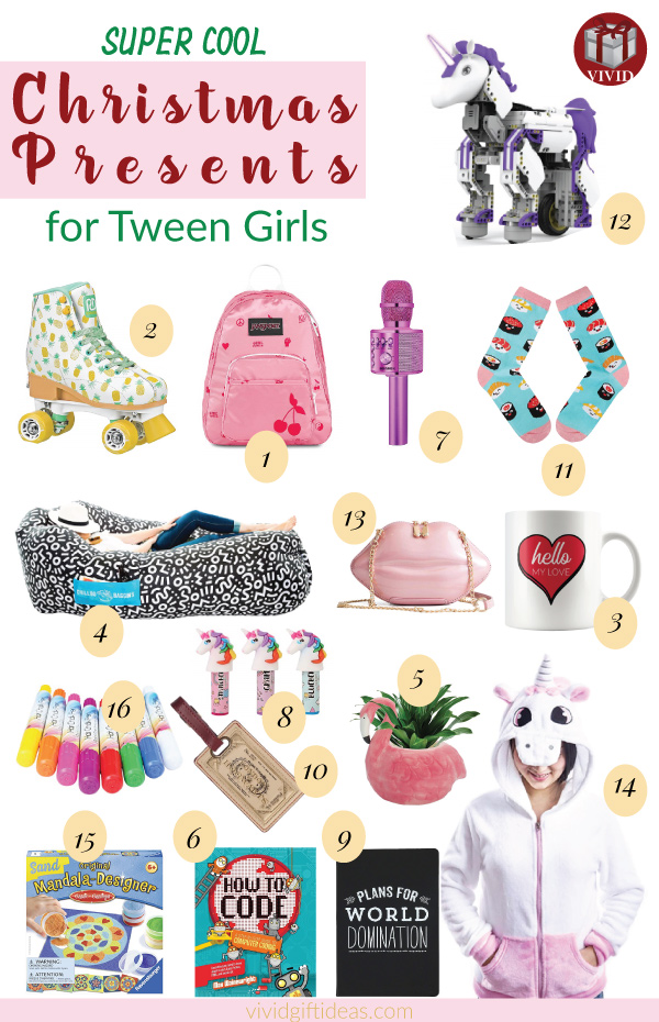 The Top 16 Christmas Tween Girl Gifts
