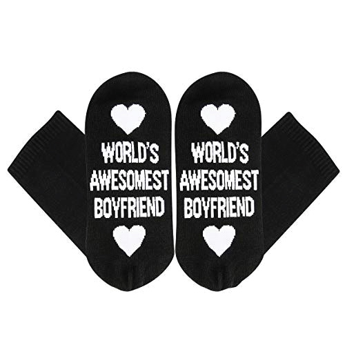 Christmas Gift Ideas | World's Awesomest Boyfriend Socks | Gifts for Boyfriend