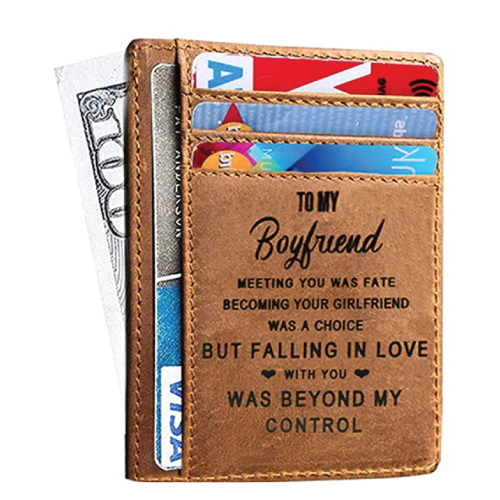 Boyfriend Card Holder Wallet