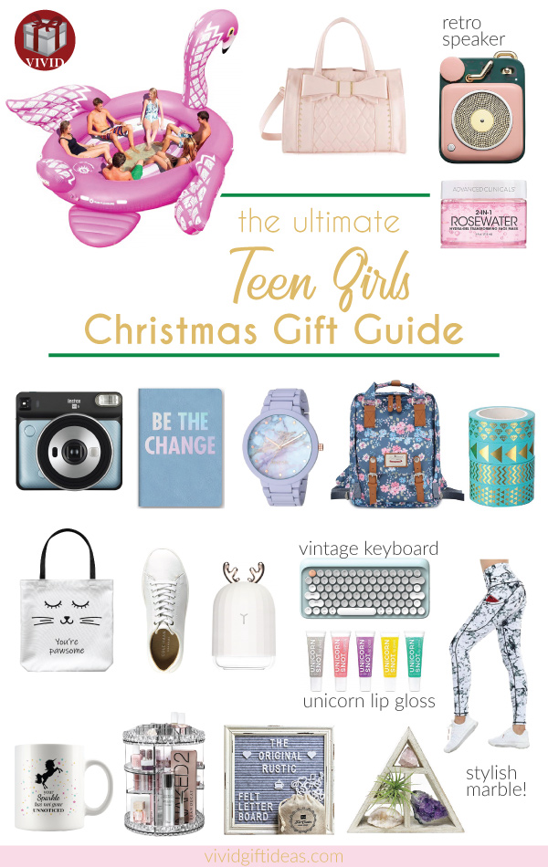 The Ultimate Christmas Gift Guide for Teenage Girls