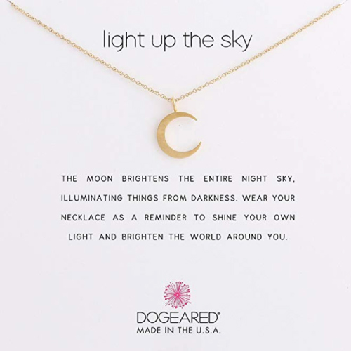 Dogeared Reminder Light Up The Sky Necklace | Christmas Gifts for Teen Girls
