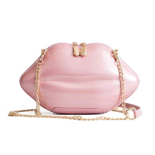 Pink Lip Purse