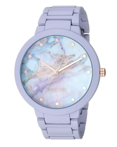 Nine West Women's Rubberized Bracelet Watch | Christmas Gifts for Teen Girls