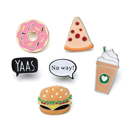 Foodie Brooch Pin