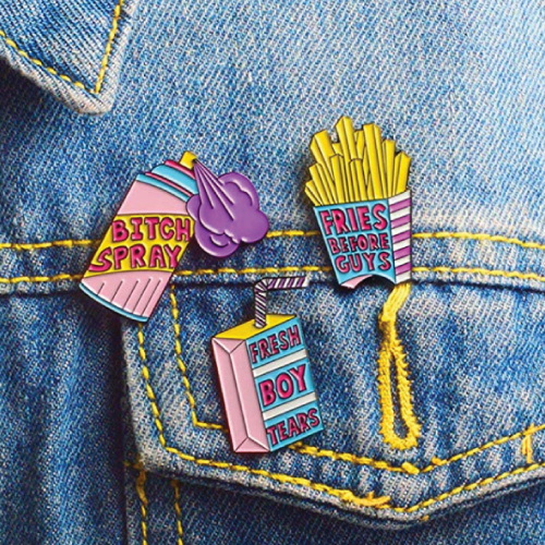 GuassLee Cute Enamel Lapel Pin Set | Stocking Stuffers for Tweens