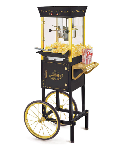 Christmas Gift Ideas | Nostalgia Vintage Popcorn Cart | Gifts for Boyfriend