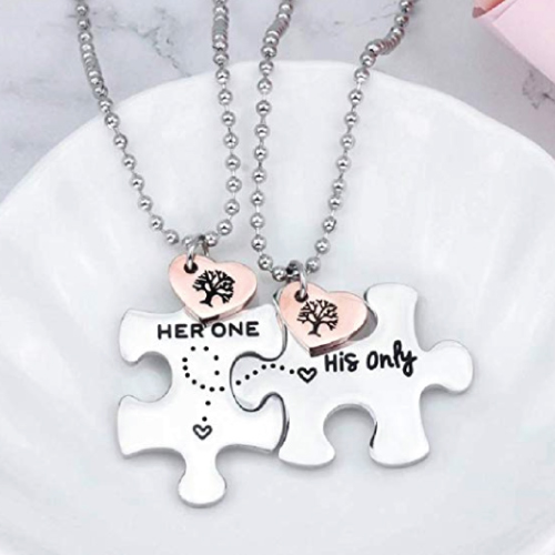 Christmas Gift Ideas | LDR Puzzle Necklaces | Gifts for Boyfriend