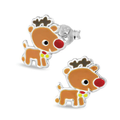 Rudolph Reindeer Stud Earrings