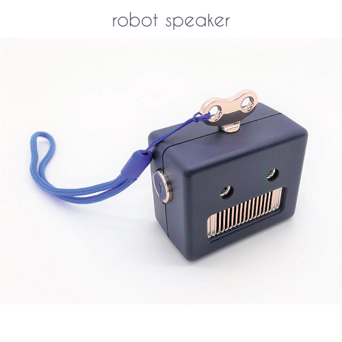Mini Retro Robot Wireless Bluetooth Speaker | Stocking Stuffers for Tweens
