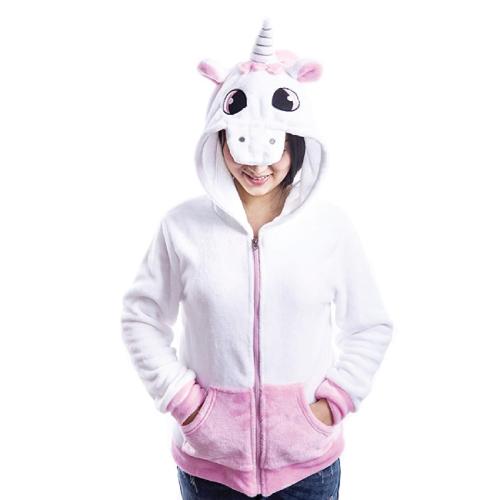 Plush Unicorn Hoodies