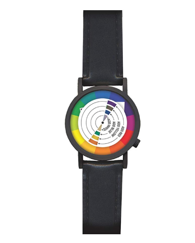 Color Wheel Art Graphic Designer Watch