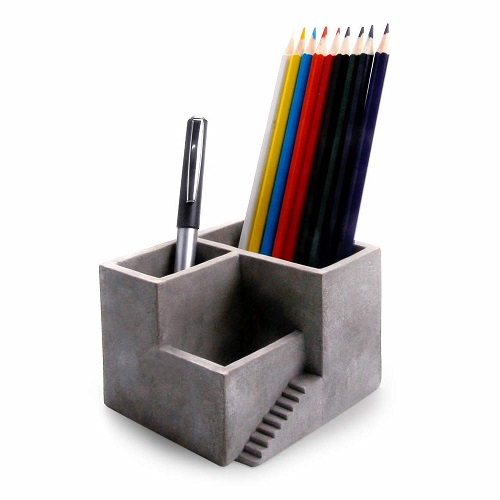 Cement Pen Pencil Holder