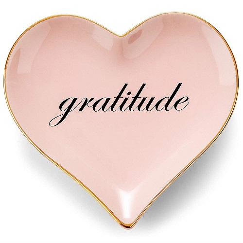 Gratitude Trinket Dish