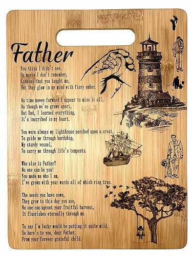 Father Poem Gift Board