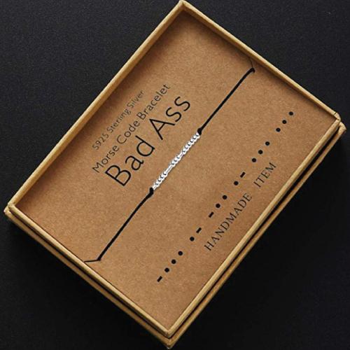 Bad Ass Morse Code Bracelet