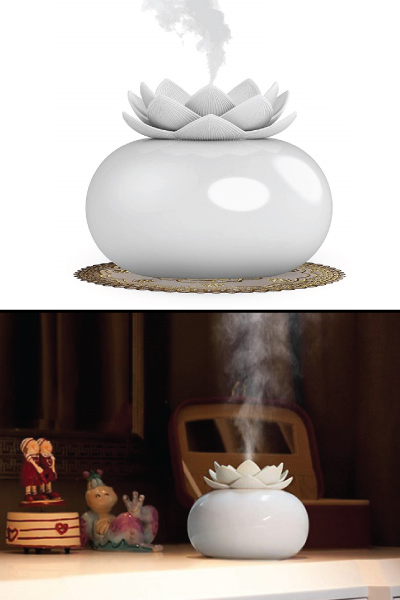 Lotus Aromatherapy Diffuser Humidifier