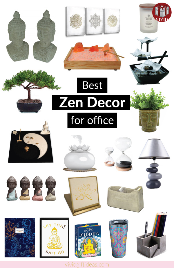 Zen Office Decor