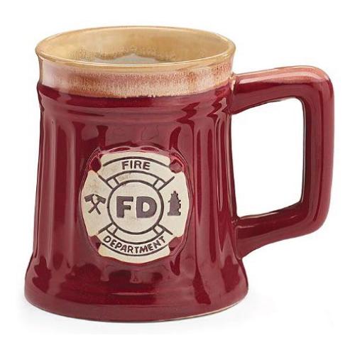 Fireman Porcelain Coffee Mug